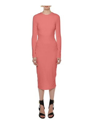 Tom Ford Long-Sleeve Bodycon Midi Dress
