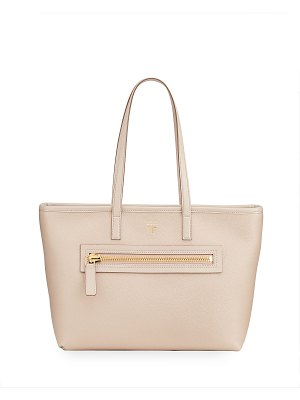 Tom Ford Medium East/West Zip Tote Bag