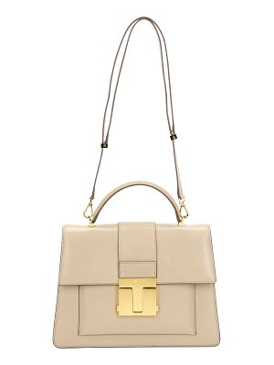 Tom Ford Medium Leather Top-Handle Bag