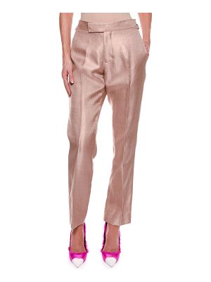 TOM FORD Metallic Twill Crop Pants