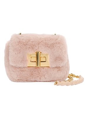 Tom Ford Natalia Mini Soft Faux-Fur Shoulder Bag