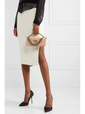Tom Ford palmellato small chain-embellished leather shoulder bag