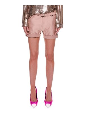 Tom Ford Stretch-Gabardine Shorts with Belt