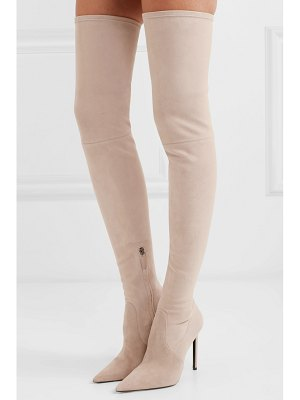 Tom Ford stretch-suede over-the-knee boots