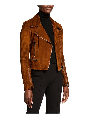 Tom Ford Suede Biker Jacket