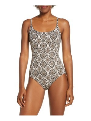 Tommy Bahama desert python one-piece swimsuit