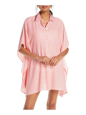 Tommy Bahama palm party boyfriend tunic shirt