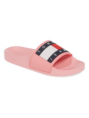 Tommy Jeans bubble logo slide
