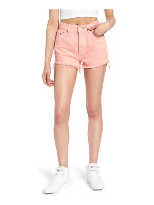 Tommy Jeans fray hem denim shorts
