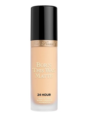 Too Faced born this way matte 24-hour foundation