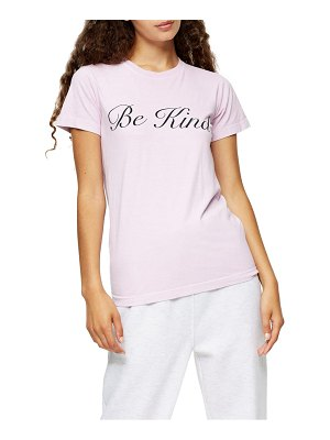Topshop be kind graphic tee
