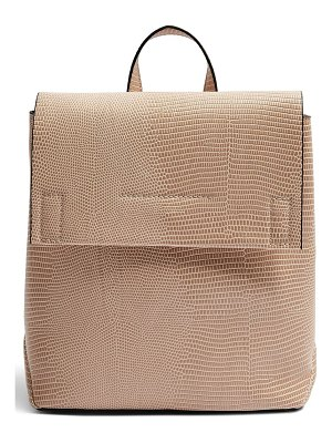 Topshop blaze faux leather backpack