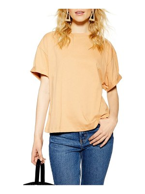 Topshop boxy roll tee