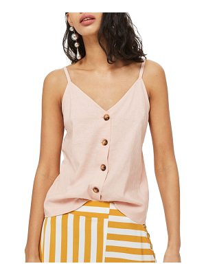 Topshop button through camisole top