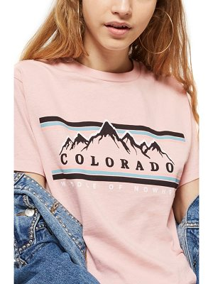 TOPSHOP Colorado Print T-Shirt