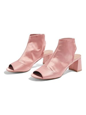 TOPSHOP Disco Stretch Satin Sandals