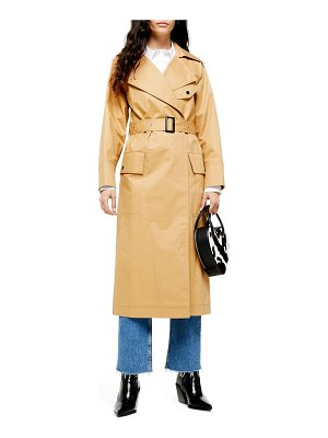 Topshop editor trench coat