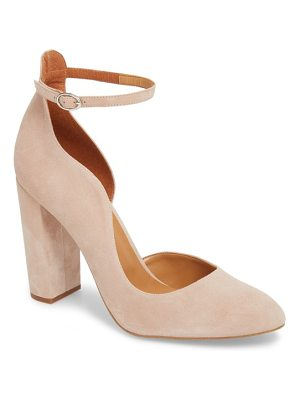 TOPSHOP Gracie Block Court Asymmetrical Pump