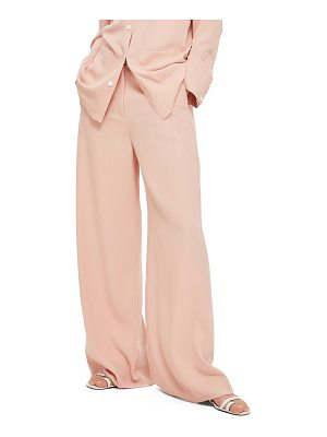 Topshop high waist wide leg trousers