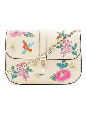 TOPSHOP Hummingbird Embroidered Crossbody Bag