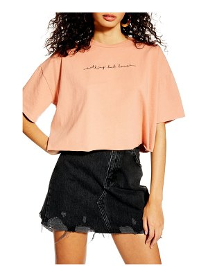 Topshop nothing but love tee