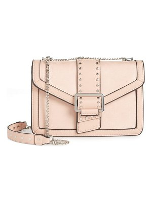 Topshop seema studded faux leather shoulder bag