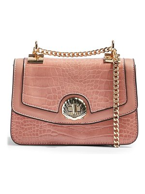 Topshop shelly faux leather convertible crossbody bag