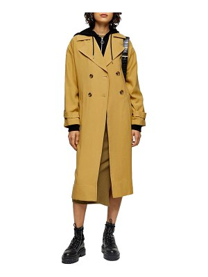 Topshop tabatha trench coat