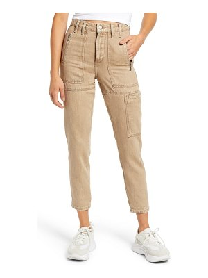 Topshop utility ankle mom jeans