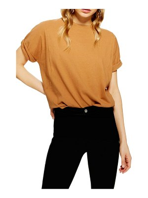 Topshop washed cotton tee