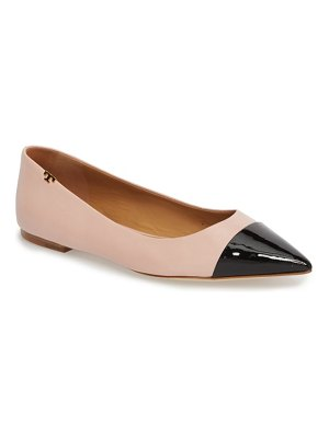 Tory Burch angelina cap toe flat