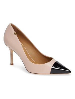 Tory Burch penelope cap toe pump
