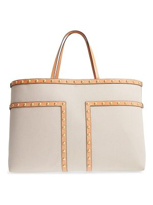 TORY BURCH Block-T Large Stud Tote