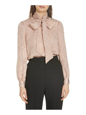 Tory Burch brielle silk blend shirt