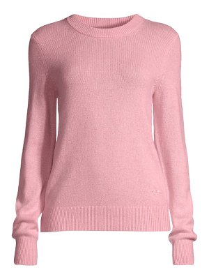 Tory Burch cashmere sparkle elbow-patch sweater