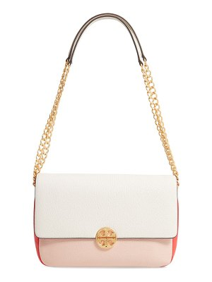 Tory Burch chelsea colorblock leather shoulder bag