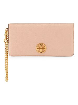 Tory Burch Chelsea Wristlet Envelope Clutch Bag