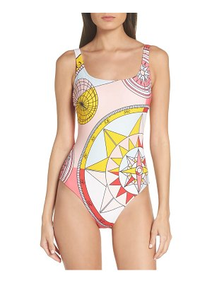 Tory Burch constellation one-piece swimsuit