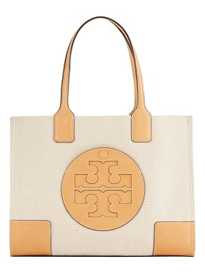 TORY BURCH Ella Canvas Mini Tote Bag