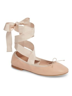 Tory Burch elodie lace-up ballet flat