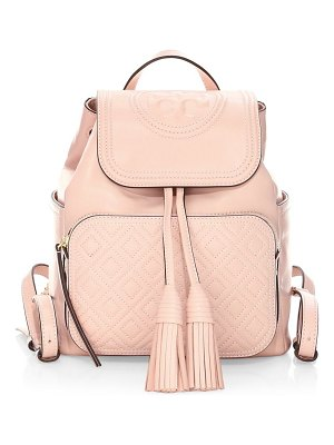 Tory Burch fleming leather backpack