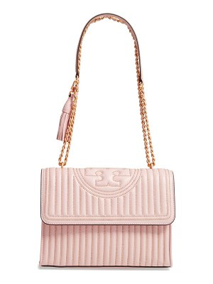 Tory Burch fleming mini stud leather convertible shoulder bag