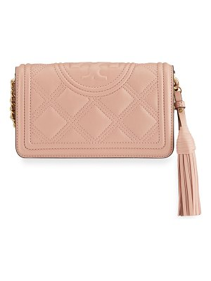 Tory Burch Fleming Soft Quilted Wallet Crossbody Bag