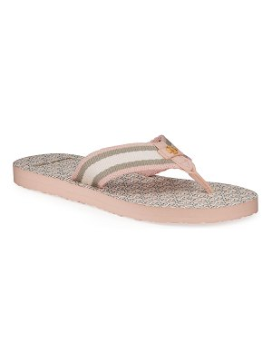 Tory Burch Gemini Link Thin Flip-Flop Sandals