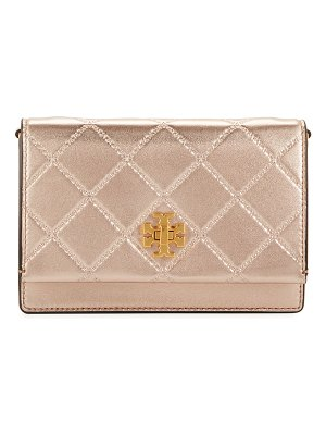 Tory Burch Georgia Metallic Chain Crossbody Bag