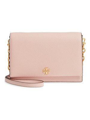 Tory Burch georgia pebble leather shoulder bag