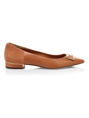 Tory Burch gigi leather & suede flats