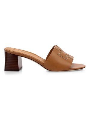 Tory Burch ines leather mules