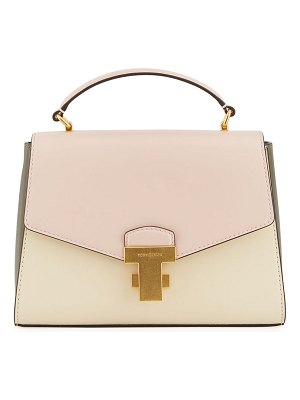 Tory Burch Juliette Small Colorblock Top-Handle Satchel Bag