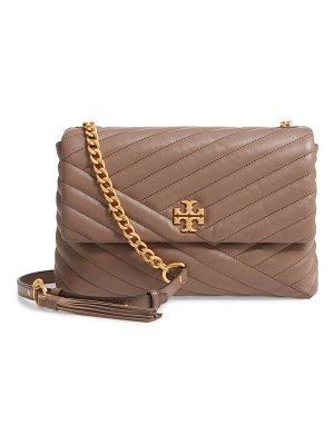 Tory Burch kira chevron quilted leather shoulder bag